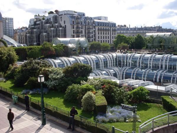 Paryż Les Halles – na dawnym targu