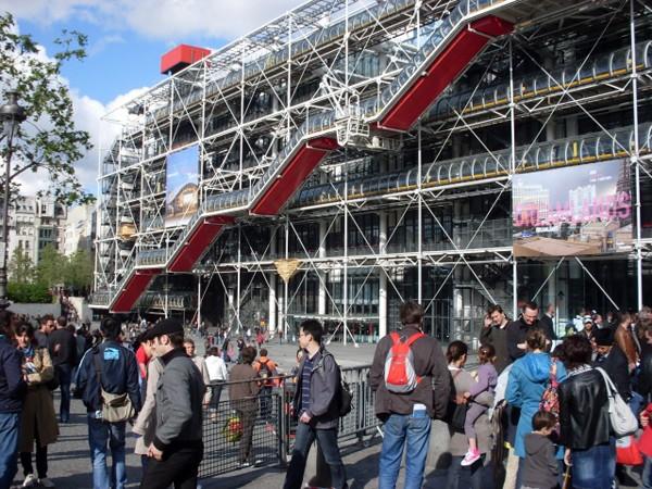 Paryż Komu się podoba Centrum Pompidou?