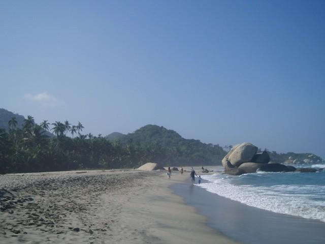 Tayrona. Witajcie w raju, czyli plaża nad laguną