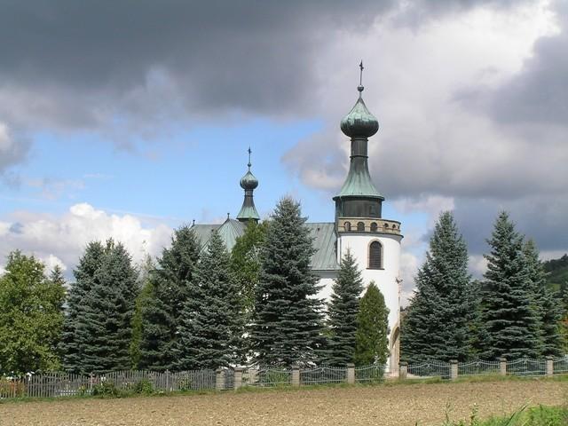 Klimkówka Kopuły nad zaporą
