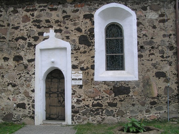 Studzieniec Gotyckie mury i barokowa ruina