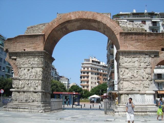 Saloniki W stolicy greckiej Macedonii