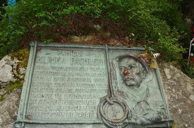 Tatry. Symboliczny cmentarz pod Osterwą