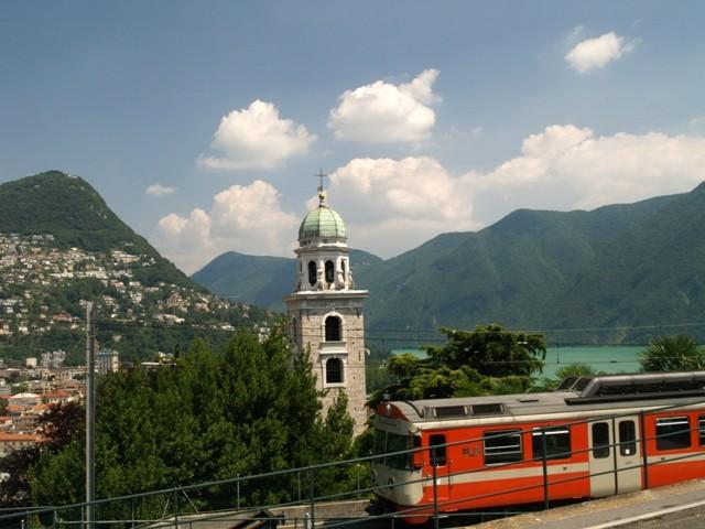 Lugano. Leniwie, we włoskim klimacie
