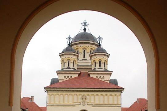 Alba Julia Dwie religie, dwie katedry