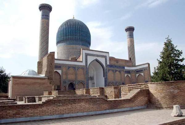 Samarkanda. Gur Emir – u grobu Tamerlana