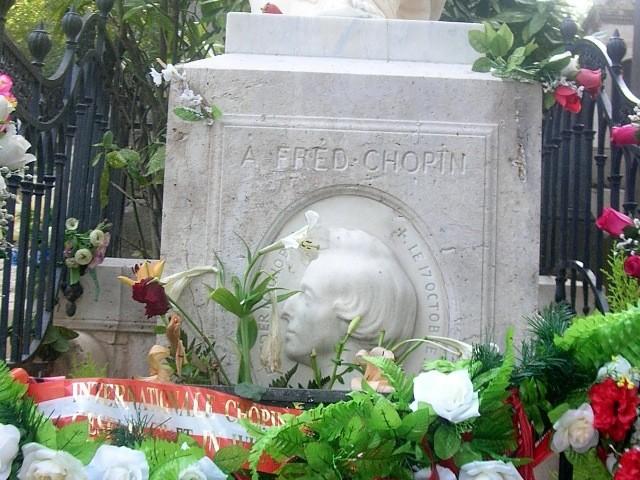 Paryż Cmentarze świata na Père Lachaise