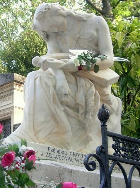 Paryż. Cmentarze świata na Père Lachaise