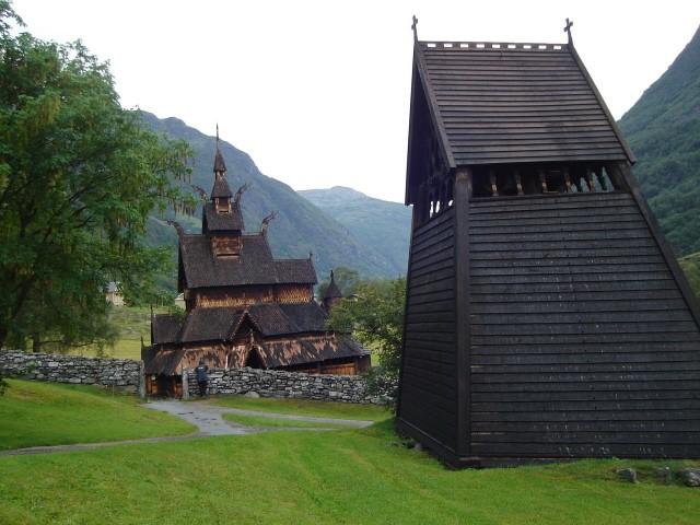 Borgund Stav w nienaruszonym stanie