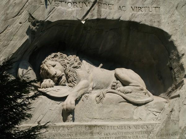 Lucerna Pomnik szwajcarskich gwardzistów