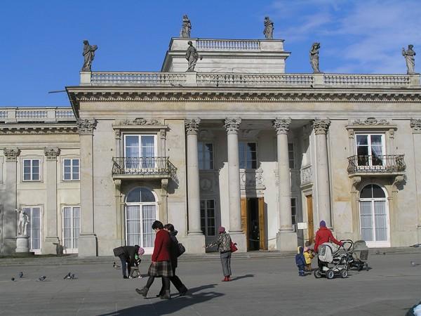 Warszawa. Łazienki króla Stanisława