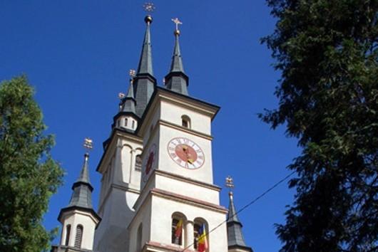Braşov Cerkiew poza murami starego miasta