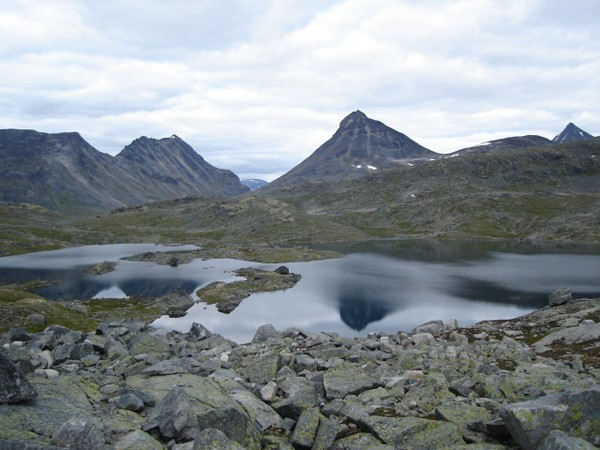 Juvasshytta Do serca gór Jotunheimen