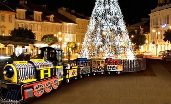 Wilno. Święta na Placu Katedralnym