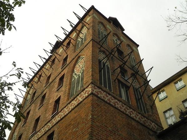 Toruń. Gołębnik wśród murów miasta