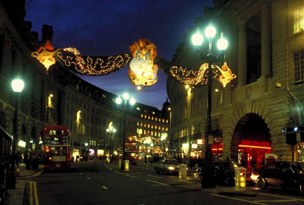 Londyn Świąteczne ślizgawki i jarmarki