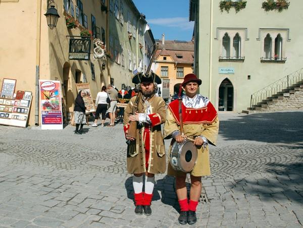 Sighişoara Wokół domu Drakuli