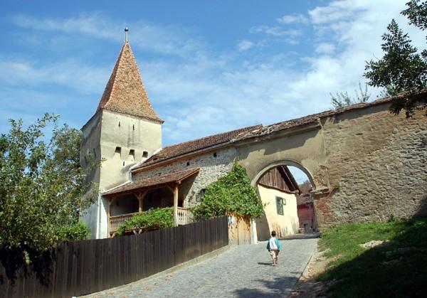 Sighişoara. Spojrzenie z Zegarowej Wieży