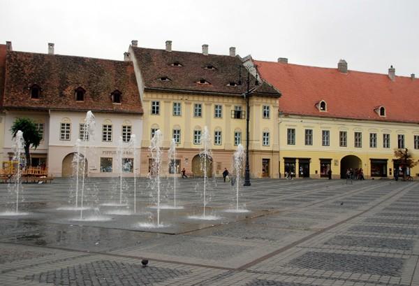 Sibiu. Waleczni Rzymianie i pracowici Sasi