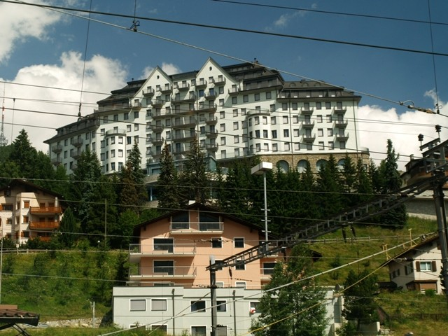 St. Moritz. Na szlaku Kolei Retyckiej