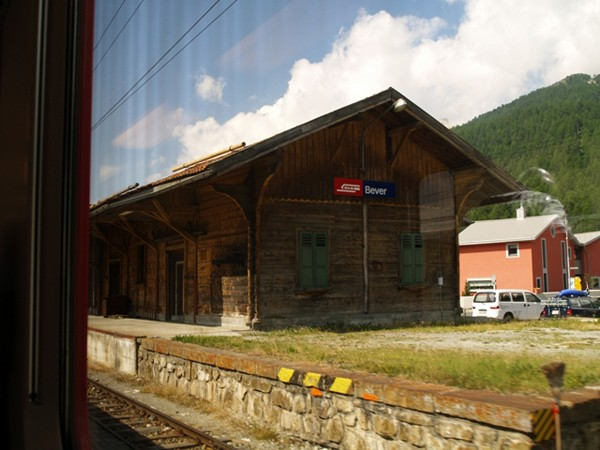 Alpy Retyckie. Przełęcz Albula Koleją Retycką