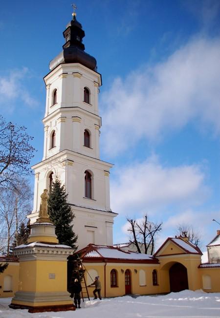 Pińsk. Główna ulica – ulica Lenina