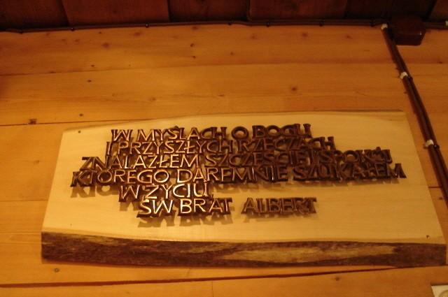 Kalatówki. W drewnianej chatce Brata Alberta