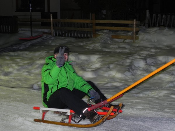 Fieberbrunn. Saneczkarskie après-ski
