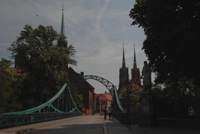 Wrocław. Most Tumski to most miłości