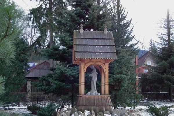 Zakopane. Kościółek przy Drodze na Bystre
