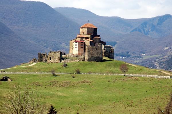 Mccheta. Dżwari, monastyr nad starą stolicą
