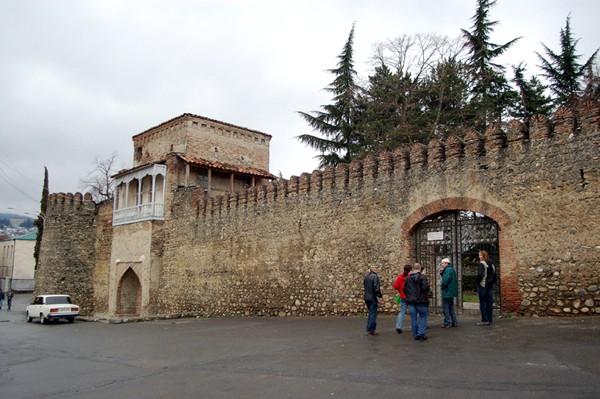 Teławi. Stolica gruzińskiej Kachetii