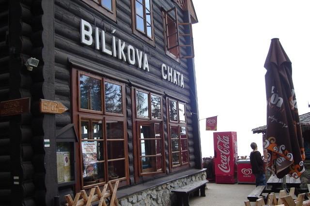 Bilikova chata. Do Wodospadu Zimnej Wody