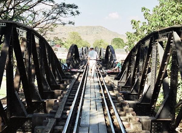 """Kanchanaburi. Tu był """"Most na rzece Kwai"""""""