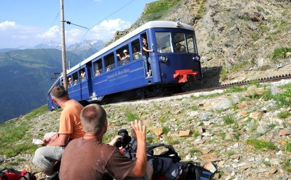 Mont Blanc. Droga na Orle Gniazdo