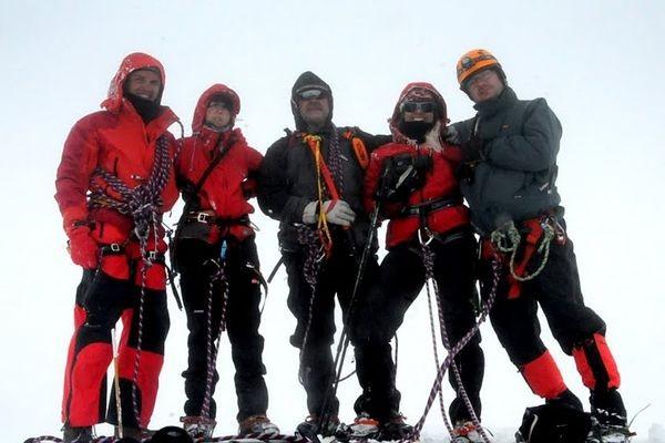 Mont Blanc Atak na szczyt: 4810 m n.p.m.