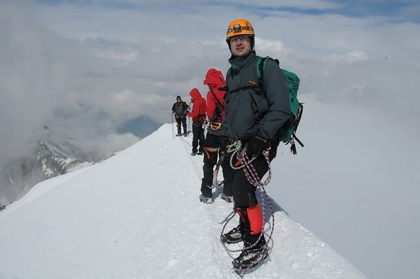 Mont Blanc. Atak na szczyt: 4810 m n.p.m.