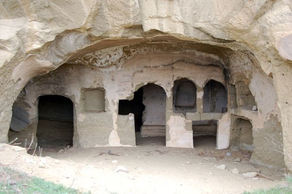 Dawid Garedżi. Klasztory wykute w skale