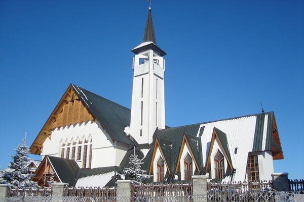 Zakopane. Kościół na Toporowej Cyrhli