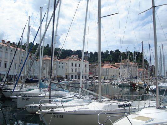 Piran. Najpiękniejszy port nad Adriatykiem