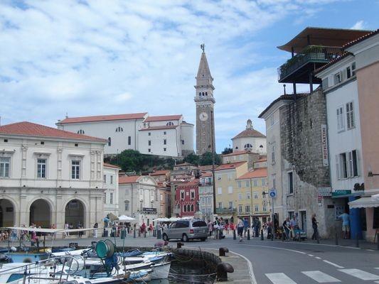 Piran Najpiękniejszy port nad Adriatykiem