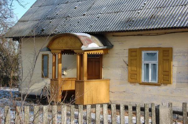 Wyryki. Wieś z drewna budowana