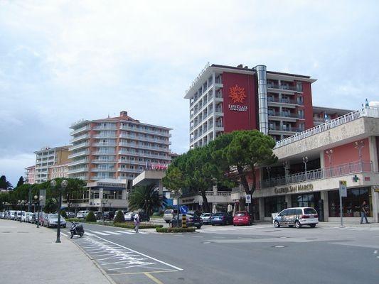Portorož. Uzdrowisko nad Adriatykiem