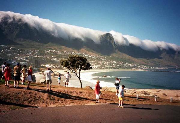Przylądek Dobrej Nadziei. Chmury między oceanami