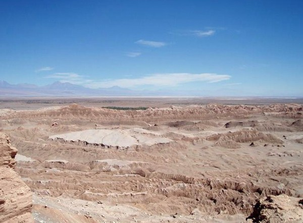 San Pedro de Atacama. Nigdy nie pada w Księżycowej Dolinie
