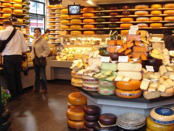Gouda Na rynku serowego miasta