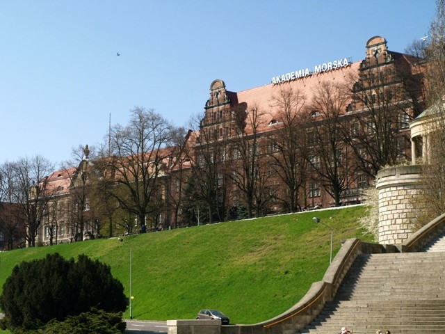 Szczecin. Wały Chrobrego, czyli Tarasy Hakena