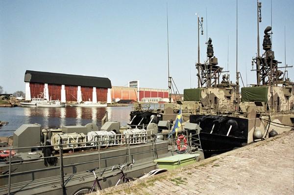 Karlskrona. Za sterami ścigacza