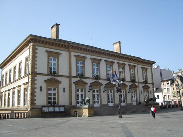 Luksemburg Ratusz na placu Wilhelma
