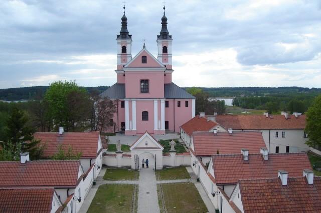 Wigry Pokamedulski zespół klasztorny